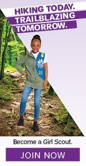 Hiking Today. Trailblazing Tomorrow. Become a Girl Scout. Join Now