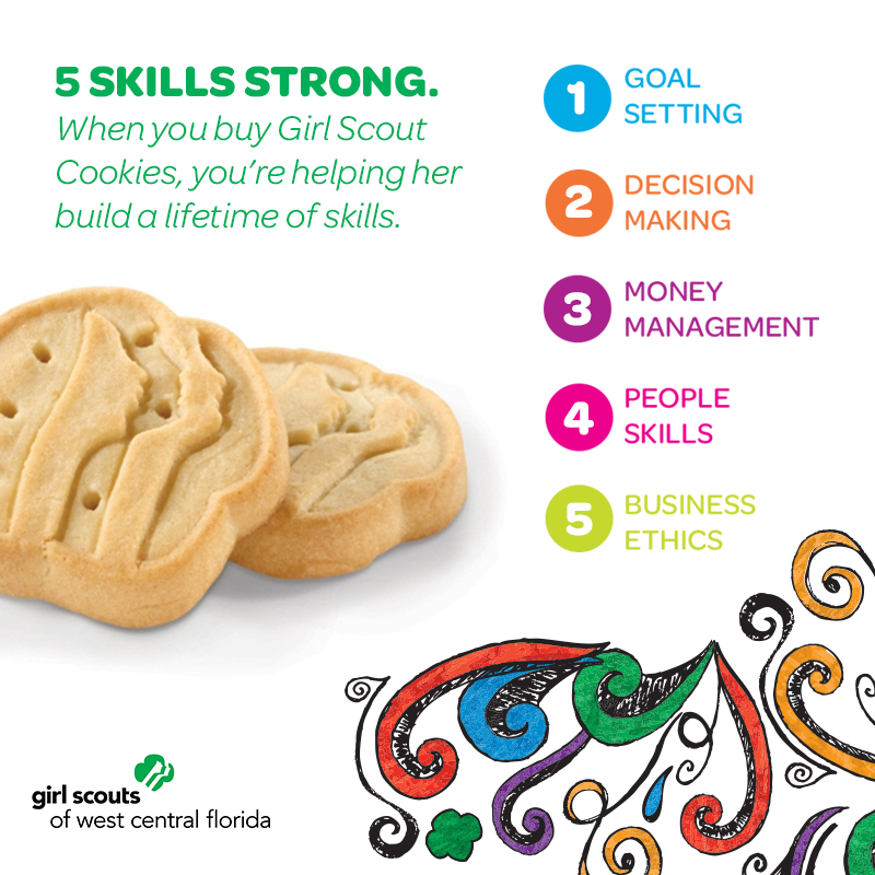 10 things to know about girl scout cookies