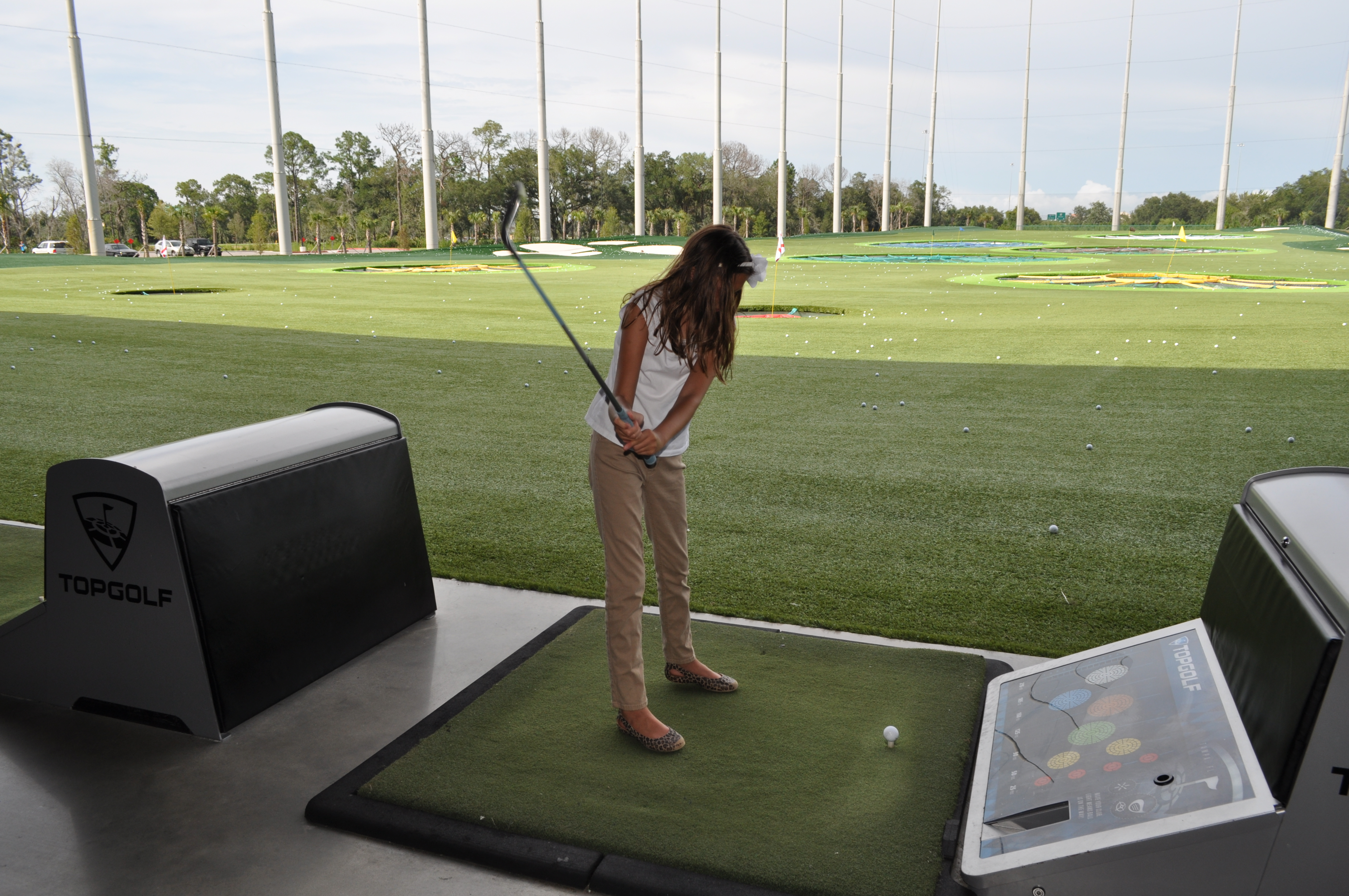 Girl Scouts Tee Off At Topgolf Tampa