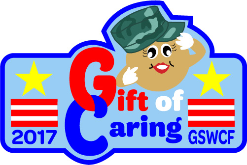 The Gift of Caring is a Girl Scout community service project that provides donated cookies to our active military men and women through Support the Troops, ...